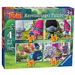 Trolls - 'Trolls' set of 4 in a box jigsaw puzzles
