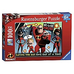 The Incredible - 'Disney Pixar The Incredibles' 2 XXL 100 piece jigsaw puzzle