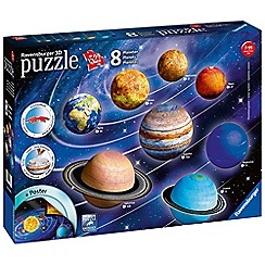 The Gruffalo - 'Planetary Solar System' set of 8 3D jigsaw puzzle