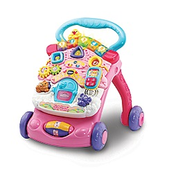 Vtech - Pink 'First Steps®' baby walker