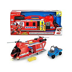 Dickie - Giant rescue toy helicopter
