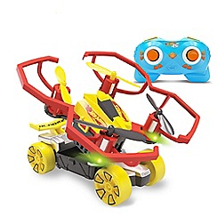 Hot Wheels - Bladez Drone Racerz Triple Threat Stunt Set