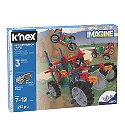 K'Nex - 'Imagine - 4WD Demolition Truck' building set - 13026