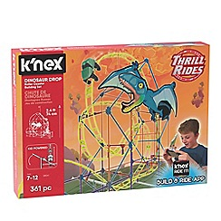 K'Nex - 'Thrill Rides - Dinosaur Drop' roller coaster building set - 28041
