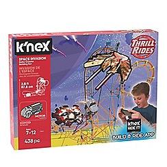K'Nex - 'Thrill Rides - Space Invasion' roller coaster building set - 27044