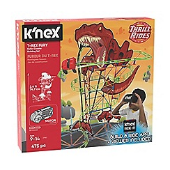 K'Nex - 'Thrill Rides - T-Rex Fury' roller coaster building set - 27152