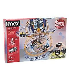 K'Nex - 'Thrill Rides -Bionic Blast' roller coaster building set - 34048