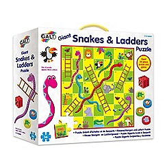 Galt - 36 piece 'Snakes and Ladders' giant floor puzzle