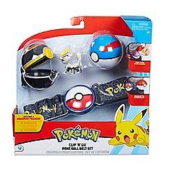 Pokemon - Clip N Go Poke Ball Belt Playset