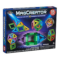 Mag Creator - Magnetic Construction 15 Piece Building Set