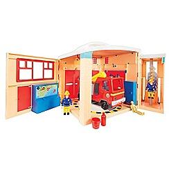 Fireman Sam - Pontypandy Fire Station Playset