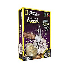 National Geographic - 'Break Open 2 Real Geodes' science kit