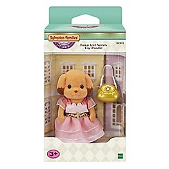 Sylvanian Families - Town girl series - toy poodle gift set