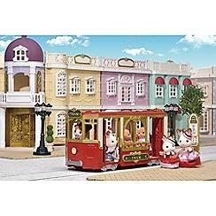 Sylvanian Families - Town ride along tram gift set