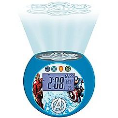 The Avengers - 'Marvel - Iron Man' radio projector clock - RL975AV