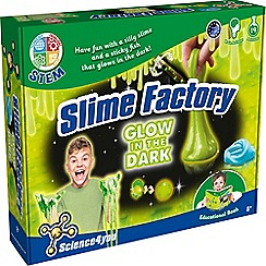 Science 4 You - Slime Factory Glow in the Dark Kit
