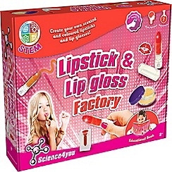 Science 4 You - Lipstick and Lip Gloss Factory Kit