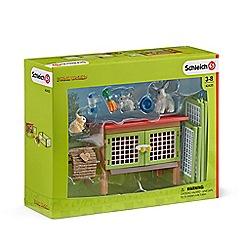 Schleich - Rabbit Hutch Playset - 42420