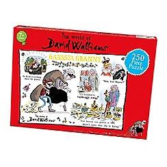 David Walliams - 250 piece 'Gangsta Granny' jigsaw puzzle