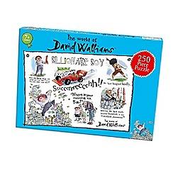 David Walliams - 250 piece 'Billionaire Boy' jigsaw puzzle