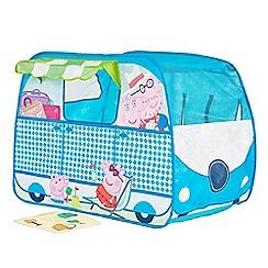 Peppa Pig - 'Campervan' pop up play tent