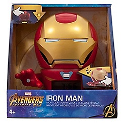 27daf85e007f BULB BOTZ - Marvel Avengers Infinity War -  Iron Man  Night Light Alarm  Clock