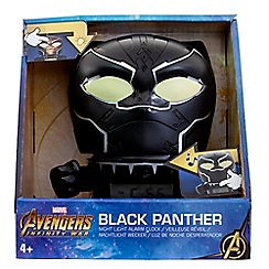 BULB BOTZ - Marvel Avengers Infinity War - 'Black Panther' Night Light Alarm Clock