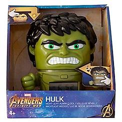 BULB BOTZ - Marvel Avengers Infinity War - 'Hulk' Night Light Alarm Clock
