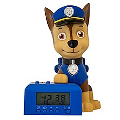 Paw Patrol - BulbBotz - 'Chase' night light alarm clock