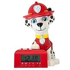 Paw Patrol - BulbBotz - 'Marshall' night light alarm clock