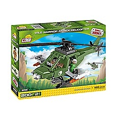 COBI - 'Wild Warrior Attack Helicopter' set - 2158