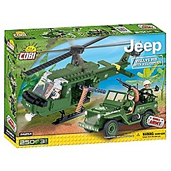 COBI - 'Willys MB - Jeep with Helicopter' set - 24254