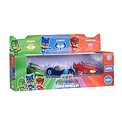 PJ Masks - Set of 3 Assorted Diecast Cars