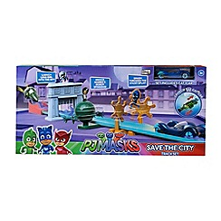 PJ Masks - 'Save The City' track set and hero vehicle
