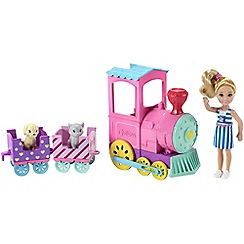 Barbie - Club chelsea doll and choo-choo train