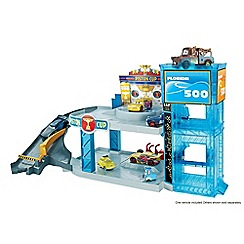 Disney Cars - Pixar florida 500 racing garage playset