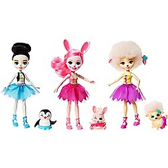 Enchantimals - Set of 3 animals and ballet dolls