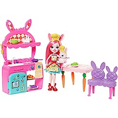 Enchantimals - Kitchen Fun Playset, Bree Bunny Doll and Twist Figure