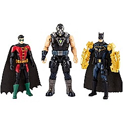 Batman - 3 pack missions batman and robin vs. bane figures