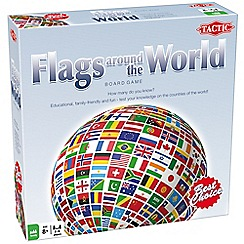 Tactic - 'Flags Around the World' board game