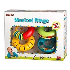 Halilit - Musical rings gift set