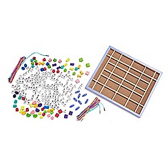 Melissa & Doug - Wooden Stringing Beads