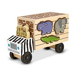 Melissa & Doug - Safari Animal Rescue Truck Playset
