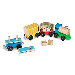 Melissa & Doug - Cargo Train Playset