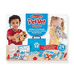 Melissa & Doug - MD Pet Vet Play Set - Examine & Treat