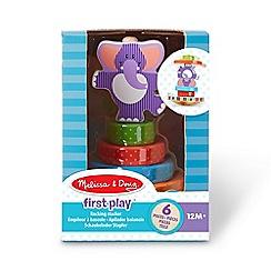Melissa & Doug - Elephant Rocking Stacker Playset