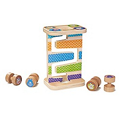 Melissa & Doug - Safari Zig-Zag Tower Playset