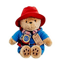 Paddington Bear - Large Cuddly Paddington Bear Soft Toy with Scarf