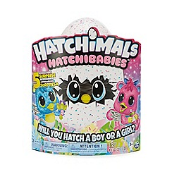 Hatchimals - HatchiBabies Pink and Teal Speckled Egg