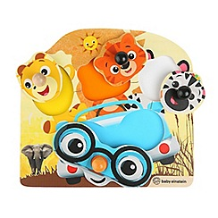 Baby Einstein - 'Friendly Safari Faces' wooden puzzle
